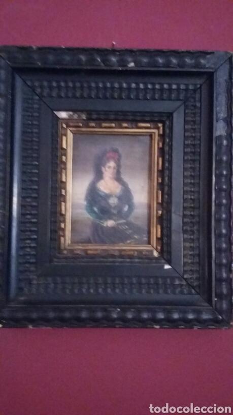 Arte: Pareja de cobres del siglo XVIII con marcos flamencos - Foto 5 - 142687418