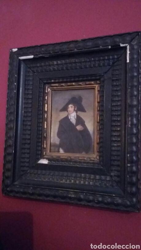 Arte: Pareja de cobres del siglo XVIII con marcos flamencos - Foto 6 - 142687418