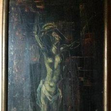 Arte: JOSÉ ALTUNA PIZARRO (SORIA, 1930 - 2004) PINTURA FIGURATIVA CON ÓLEO. Lote 142773746