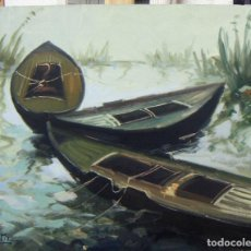 Arte: OLEO FIRMADO H. ORTIZ. Lote 142796358