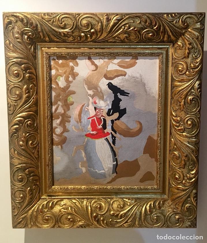 CUADRO OLIÓ LIENZO JORGE CASTILLO (Arte - Pintura - Pintura al Óleo Contemporánea )