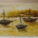 Arte: MARINA ESTILO SEGRELLES. 55X33. OLEO SOBRE LIENZO. FIRMADA.. Lote 142832018