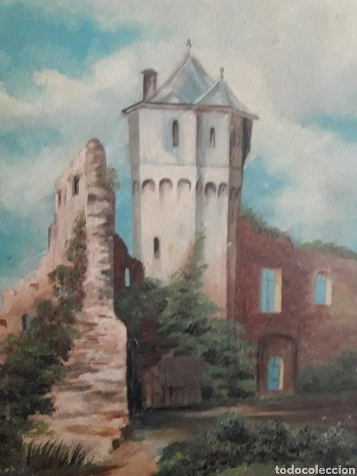 Arte: Pintura Romántica sobre cartón. Siglo XIX. Sin firmar. - Foto 2 - 142848644