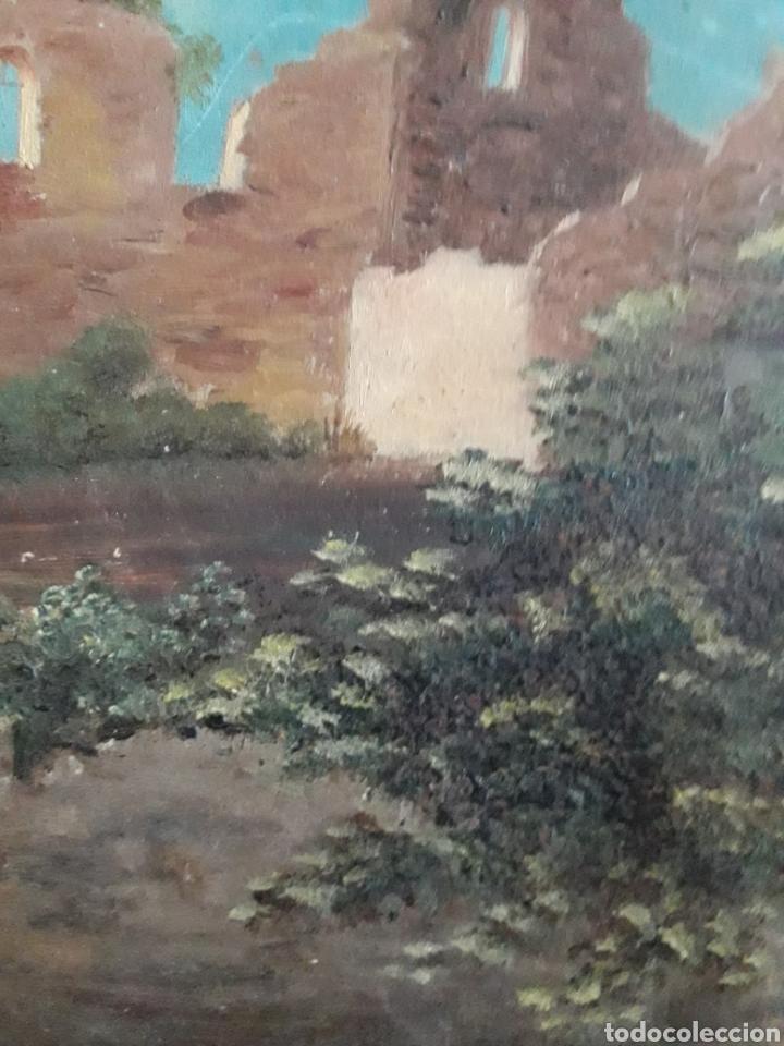 Arte: Pintura Romántica sobre cartón. Siglo XIX. Sin firmar. - Foto 3 - 142848644