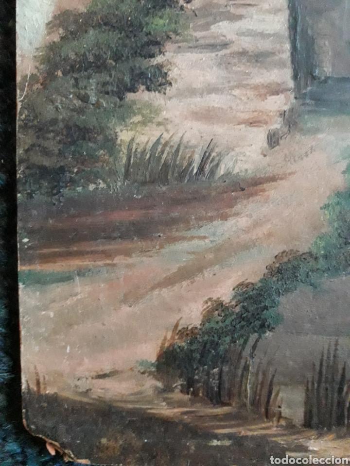 Arte: Pintura Romántica sobre cartón. Siglo XIX. Sin firmar. - Foto 4 - 142848644