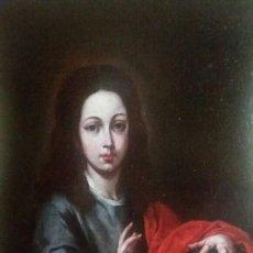 Arte: MENESES OSORIO, FRANCISCO(SEVILLA1630-1721): CRISTO NIÑO SALVADOR DEL MUNDO. Lote 142875004