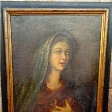 Arte: ÓLEO S/LIENZO -VIRGEN SOLEDAD-. ENMARCADO DE ÉPOCA. 96.5X76 CMS. ESCUELA ITALIANA FINALES S. XVIII.. Lote 142927526