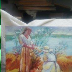 Arte: UN DÍA ENTRE LA NATURALEZA (GRAN COLORIDO). Lote 143055916