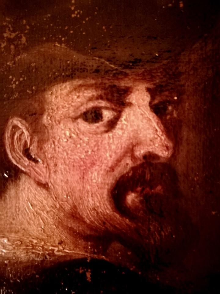 Arte: PINTURA,SIGLO XVIII,POSIBLE RETRATO MIGUEL DE CERVANTES DE JOVEN,AUTOR DE DON QUIJOTE DE LA MANCHA - Foto 3 - 97821879