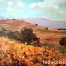 Arte: PINTURA OLEO SOBRE MADERA - DE JOSEP MARFA GUARRO - BARCELONA - Nº1 C -. Lote 143117326