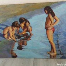 Arte: PINTURA ÓLEO .BERENGUER LÓPEZ 1989.. Lote 143153917