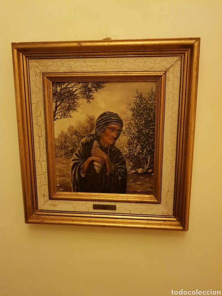 Arte: Cuadros /pareja de ancianos - Foto 2 - 143209146