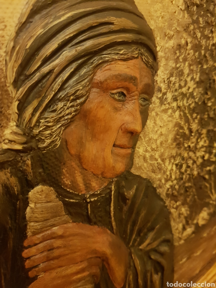 Arte: Cuadros /pareja de ancianos - Foto 4 - 143209146