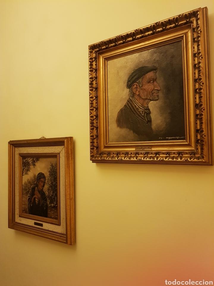 Arte: Cuadros /pareja de ancianos - Foto 13 - 143209146
