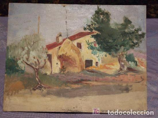 PAISAJE CASA PAYES OLEO SOBRE TABLA (Arte - Pintura - Pintura al Óleo Moderna sin fecha definida)