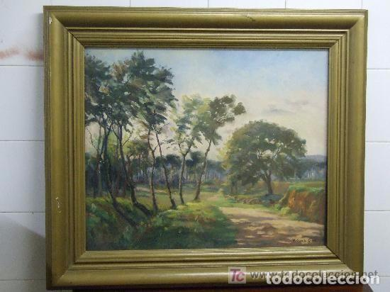 OLEO VICENTE CASALS GRAU - GRANOLLERS (Arte - Pintura - Pintura al Óleo Moderna sin fecha definida)