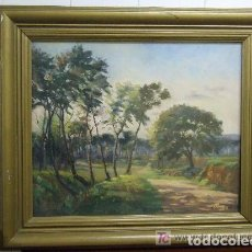Arte: OLEO VICENTE CASALS GRAU - GRANOLLERS. Lote 143260070