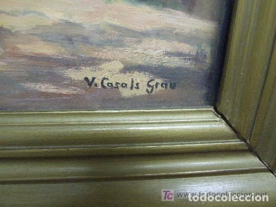 Arte: OLEO VICENTE CASALS GRAU - GRANOLLERS - Foto 2 - 143260070