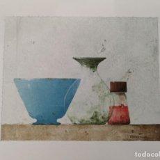 Arte: GARAIZÁBAL, JAVIER. (FERROL, A CORUÑA, 1944). BODEGÓN II. ÓLEO SOBRE PAPEL. Lote 143584834
