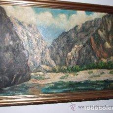 Arte: OLEO SOBRE TELA, PAISAJE FDO. BALLESTER -MALLORCA ?. Lote 143612826
