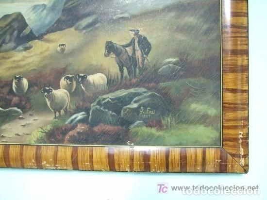 Arte: PAISAJE OLEO SOBRE TELA , J. FONT ,1927 - Foto 2 - 143618102