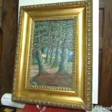 Arte: PAISAJE IMPRESIONISTA , OLEO SOBRE TELA, CARDEDEU. Lote 143626198