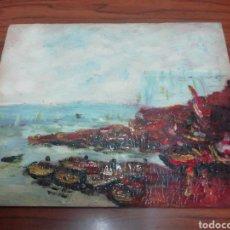Arte: ÓLEO PINTADO A MANO 25X20. Lote 143668241