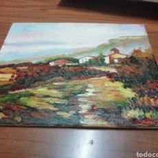 Arte: ÓLEO PINTADO A MANO 25X20. Lote 143669924