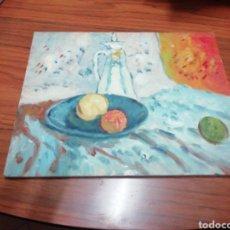 Arte: ÓLEO PINTADO A MANO 25X20 AUTOR DESCONOCIDO. Lote 143670652