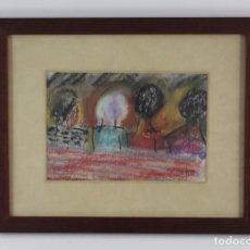 Arte: C-793 DIBUJO A PASTEL .FIRMA ILEGIBLE.AÑO 1994.. Lote 143683694