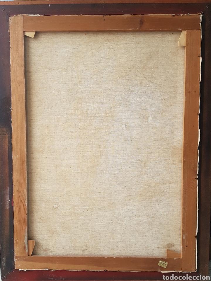 Arte: Rafael Sarabia-Benitez y Ruiz de Esquive (Barcelona, 1908- ?) - Caballero.oleo/tela.Firmado.1974. - Foto 12 - 143653612