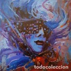 Arte: PINTURA OLEO SOBRE MADERA - VENEZIA - DE JOSEP MARFA GUARRO - Nº1 C -. Lote 143727510