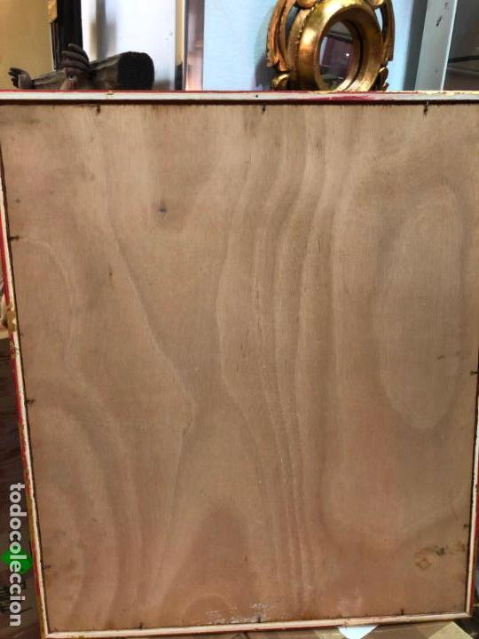 Arte: RETRATO OLEO SOBRE TABLA DEL PINTOR RECONOCIDO TORRES BRU - MEDIDA MARCO 55,5X47,5 CM - Foto 12 - 143740146