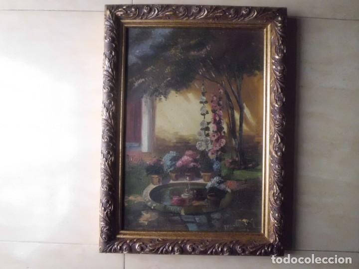 PRECIOSO OLEO SOBRE LIENZO XIX LUIS MAYOL (Arte - Pintura - Pintura al Óleo Moderna siglo XIX)
