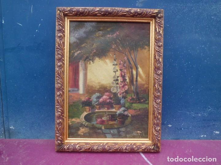 Arte: precioso oleo sobre lienzo xix LUIS MAYOL - Foto 3 - 143740382