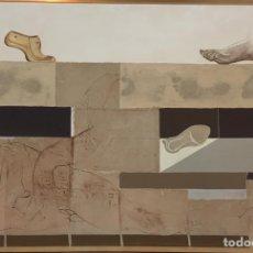 Arte: PEPE DÁMASO - TITULO LA ZAPATERÍA DESNUDA DE LA SERIE SEXO QUEMADO 1973 ARTE CANARIAS. Lote 143744961