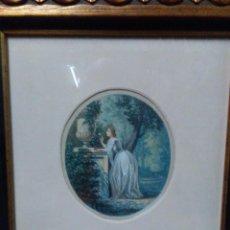 Arte: RAMON TUSQUETS MAIGNON (BARCELONA, 1837 - ROMA, 1904) ACUARELA. Lote 143717286
