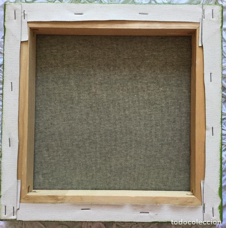 Arte: Obra de técnica mixta títulada La espera (30x30x4cm) - Foto 4 - 143791914