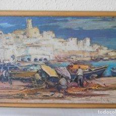 Arte: JOSEP SARQUELLA, LA ATMELLA DE MAR. Lote 143804826