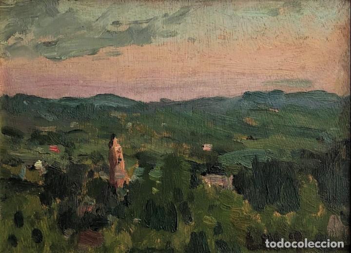ELISEO MEIFRÉN ROIG - VALLDEMOSA, MALLORCA . ÓLEO (Arte - Pintura - Pintura al Óleo Moderna sin fecha definida)
