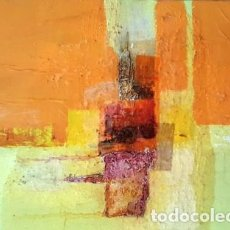 Arte: PINTURA ABSTRACTA EN CARTON - DE JOSEP MARFA GUARRO DE BARCELONA - D - 1 -. Lote 143853214