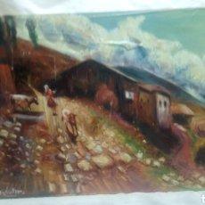 Arte: ESPECTACULAR PAISAJE(GRAN CALIDAD). Lote 143926140