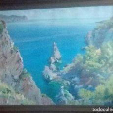 Arte: PINTURA MALLORQUINA GUILLEM VADELL MUNTANER MARINA. Lote 143937010