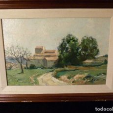Arte: OLEO DE TOMAS VALL CAN BONASTRE. Lote 143963962