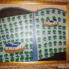 Arte: PAISAJE - EVARISTO GUERRA (VÉLEZ-MÁLAGA, 1942 - ...) - ÓLEO SOBRE LIENZO.. Lote 143983298