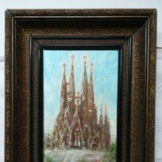 Arte: ANTONIO SANCHEZ CORRALIZA. SAGRADA FAMÍLIA DE BARCELONA. Lote 144011954