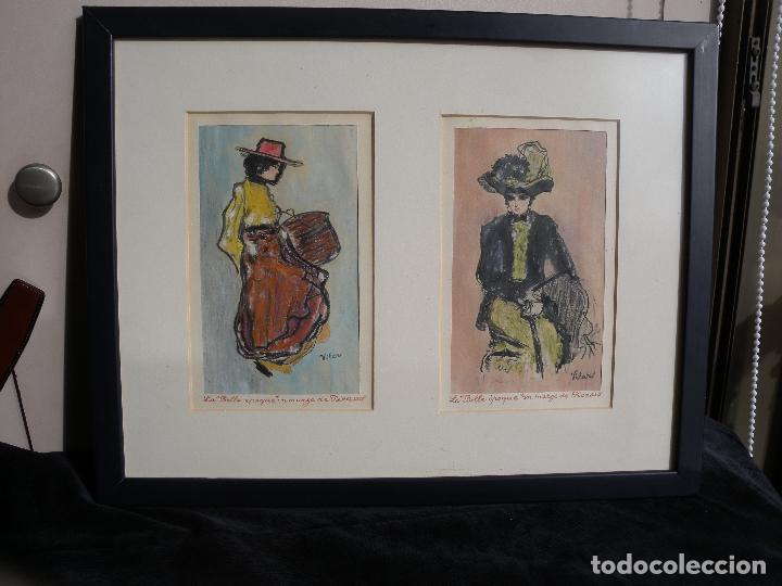 BELLE EPOQUE - FIRMADO VILAR (Arte - Pintura - Pintura al Óleo Moderna siglo XIX)