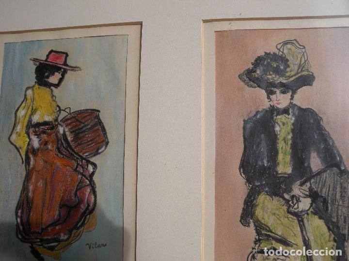 Arte: BELLE EPOQUE - FIRMADO VILAR - Foto 2 - 144102734