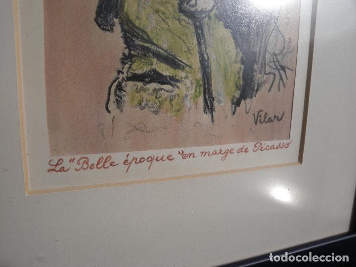 Arte: BELLE EPOQUE - FIRMADO VILAR - Foto 6 - 144102734