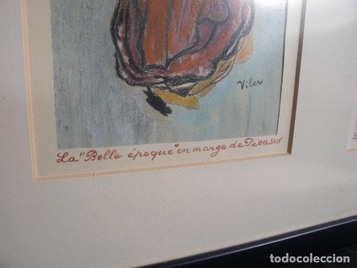Arte: BELLE EPOQUE - FIRMADO VILAR - Foto 8 - 144102734